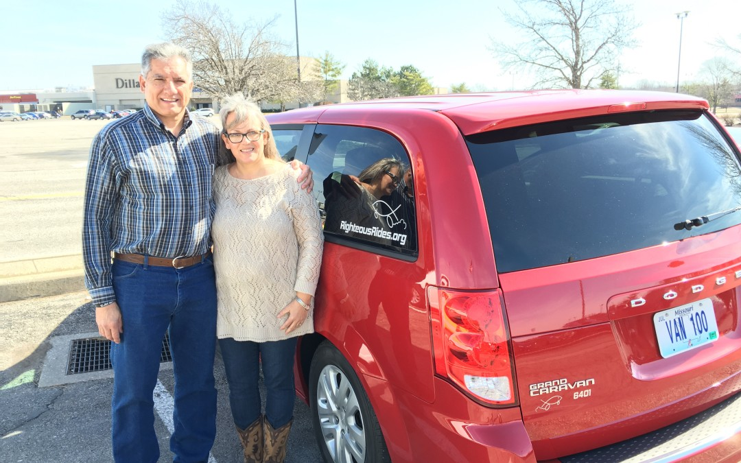 Van 100! Headed to Texas!