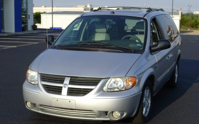 2005 Dodge Grand Caravan (silver)