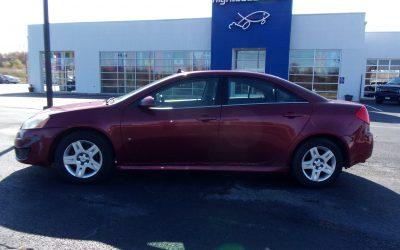 2010 Pontiac G6 (#1629)